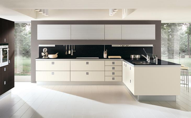 Perfiles para cocinas artplast s l - Cocinas negras y blancas ...